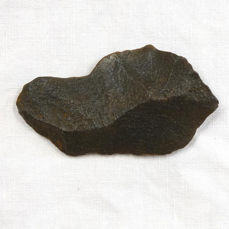 Eclat, industrie lithique acheuléenne, Caune de l'Arago (Tautavel)