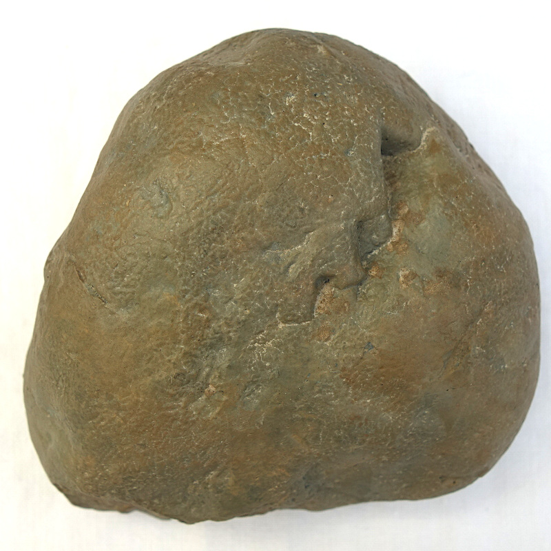 Chopping-tool, industrie lithique acheuléenne, Caune de l'Arago (Tautavel)