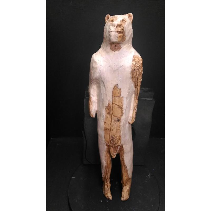 """Statuette """"L'homme-lion"""", Grotte de Hohlenstein-Stadel, Aurignacien"""